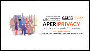 Aperiprivacy 9 - Come proteggersi dalle sanzioni del GDPR